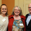 Ken Yuszkus/Staff photo:  Danvers: From left, Jill Granger, Cheryl Delisle, both of Comfort Inn, Danvers, and Bill Steelman of the Essex National Heritage Commission, attended the North of Boston Convention and Visitors Bureau Tourism summit.