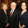 Danvers: From left, retired Danvers Police Lt. Carole Germano, Rabbi Emily Mathis, of Temple Beth Shalom in Peabody, and Habitat for Humanity North Shore and Casa de Moda co-owner Donald Preston are the 2014 Drum Majors for Justice Award winners at the 13th annual Dr. Martin Luther King Awards Dinner sponsored by the Danvers Committee for Diversity at the Danversport Yacht Club on Monday evening. DAVID LE/Staff Photo