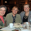 Danvers: From left, Elaine Regis, Mary Cassiola, and Debra Lemieux, at the 13th annual Dr. Martin Luther King Awards Dinner sponsored by the Danvers Committee for Diversity at the Danversport Yacht Club on Monday evening. DAVID LE/Staff Photo