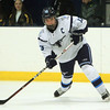 Peabody: Peabody captain Giuseppe Zorro (13) fires a shot on net against Lynn. The Tanners executed a third period comeback to defeat the Lynn Jets 5-3, to earn head coach Mark Leonard his 200th career victory with Peabody on Saturday evening at the McVann-O'Keefe Rink. DAVID LE/Staff Photo