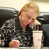 Marblehead: Marblehead Selectman Jackie Belf-Becker. DAVID LE/Staff Photo
