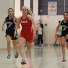 Ipswich: Masco senior Kaleigh White wins the 40 yard dash on Friday afternoon. DAVID LE/Staff Photo