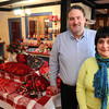 Ken Yuszkus/Staff photo: Eric Emerson and his wife Cathie are new owners of Putnam Pantry.