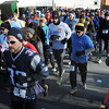 Ken Yuszkus/Staff photo: Salem: The start of the seventh annual Frosty Four 4-mile road race in Salem.