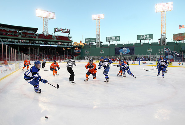 Boston: Salem State took on UMass Boston at Fenway Park on Tuesday afternoon. The Vikings fell to the Beacons 4-2. DAVID LE/Staff Photo