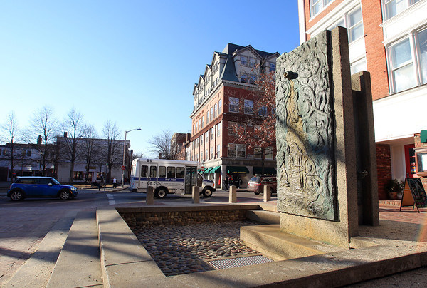 Salem: The fountain next to Rockafellas at the end of the Essex Street Pedestrian Mall will be going under repair. DAVID LE/Staff PhotoIpswich: DAVID LE/Staff Photo
