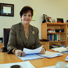 Danvers: New North Shore Community College President Patricia Gentile. DAVID LE/Staff Photo