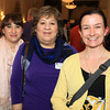 Salem: From left, Jessica and Anne DeStefano of The Marble Faun Books and Gifts, and Kylie Sullivan of Salem Main Streets, at the Salem Chamber of Commerce After Hours Networking event held inside the Salem Five Community Room on Wednesday evening. DAVID LE/Staff Photo