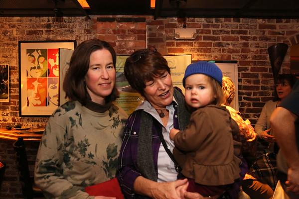 Photo/Reba Saldanha Salem residents (from left) Anna, Ellen, and Ivy Brandenburg at the Salem Award recipient announcement at Opus Underground in Salem Sunday January 24, 2016.
