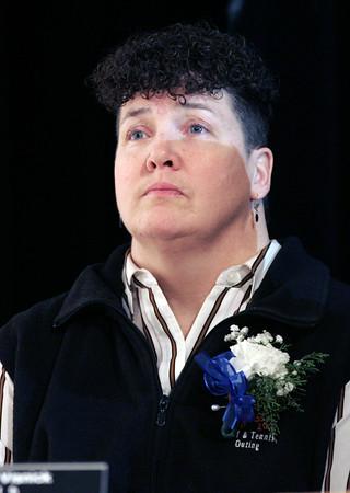 KEN YUSZKUS/Staff photo.   Beverly school committee member Lorinda Visnick.  01/04/16.