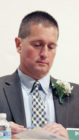 KEN YUSZKUS/Staff photo.   Beverly's president of the city council Paul Guanci.         01/04/16.