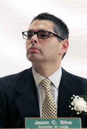 KEN YUSZKUS/Staff photo.   Beverly councilor-at-large Jason Silva.  01/04/16.