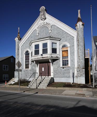 KEN YUSZKUS/Staff photo.  The GAR Hall at 8 Dane Street in Beverly.   01/21/16.