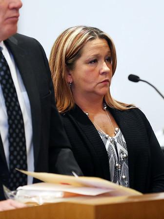 Crystal Clark is arraigned in Salem Superior Court
