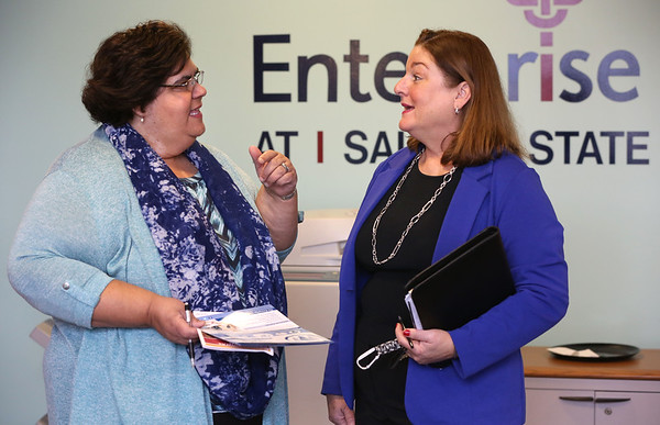 The Enterprise Center's Laura Swanson speaks about the new initiatives at the center