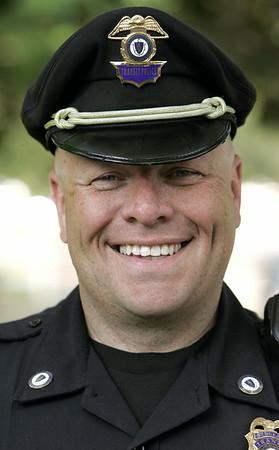 KEN YUSZKUS/Staff photo.  MBTA Sgt. Steve O'Hara is to receive an award. 7/18/14