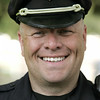 KEN YUSZKUS/Staff photo.  MBTA Sgt. Steve O'Hara is to receive an award. 7/18/14