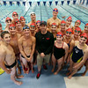 Chris Morgan is the new YNS Sharks Competitive Aquatics Director. He and his team will be leaving on Saturday to go to Nationals. DAVID LE/Staff photo. 7/25/14.