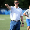 New St. John's Prep Head Football Coach Brian St. Pierre. DAVID LE/Staff photo. 7/24/14.