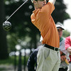 KEN YUSZKUS/Staff photo. Charlie May of Ferncroft Country Club at the 1st tee in the second day of play at the 105th Massachusetts Amateur Championship (golf) at Kernwood Country Club in Salem.  7/15/14