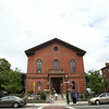 Peabody Institute Library on Main Street in Peabody. DAVID LE/Staff photo. 7/24/14.