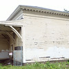 The old railway station on Cherry Street in Danvers as seen from the Danvers Rail Trail. DAVID LE/Staff photo. 7/15/14.