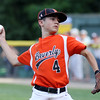 DAVID LE/Staff photo. Beverly starting pitcher Joe Brown fires a pitch against Andover National. 7/21/16.