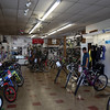 DAVID LE/Staff photo. Inside of Brown's Bike Shop in Downtown Beverly. 7/17/16.