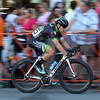 DAVID LE/Staff photo. Men's Elite winner Sam Rosenholtz,  speeds down Cabot Street during the Beverly Gran Prix Men's Elite race on Wednesday evening. 7/27/16.