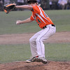 TIM JEAN/Staff photo<br /> Beverly's Joe Kotwicki throws a pitch against Andover during the Section 4 Little League all-star championship game.  7/23/16