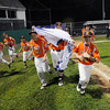 TIM JEAN/Staff photo<br /> Beverly's players run around the field as they celebrate winning the Section 4 Little League all-star championship game.  Beverly defeated Andover 9-4.  7/23/16