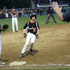 HADLEY GREEN/ Staff photo<br /> Beverly's Jack Ryan (2) runs to third base at the Beverly v. Gloucester District Finals Little League game. 7/14/17
