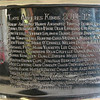 Topsfield native Mark Yanetti, the Director of Amateur Scouting for the Los Angeles Kings won the Cup for the second time in three years. His name from the 2011-2012 Stanley Cup Champion LA Kings is seen in the middle of the plaque on the bottom of the Stanley Cup. DAVID LE/Staff photo. 6/29/14.