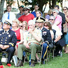 Many people attended a commemoration ceremony for the Great Salem Fire of 1914 at Lafayette Park on Wednesday afternoon. DAVID LE/Staff photo. 6/25/14.