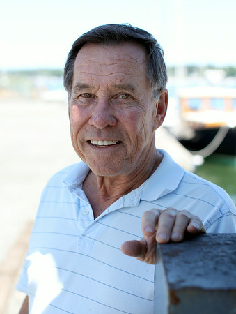Fred Atkins, owner of the Fred J. Dion Yacht Yard in Salem. DAVID LE/Staff photo. 6/27/14.