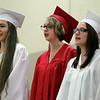 Masconomet Regional High School Graduation 2014. DAVID LE/Staff photo. 6/6/14.
