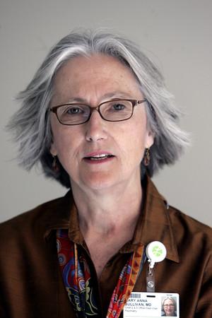 KEN YUSZKUS/Staff photo.  Dr. Mary Anna Sullivan.    6/11/15