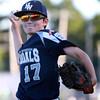 DAVID LE/Staff photo. 6/29/15. Hamilton-Wenham Williamsport Little League pitcher Josh Tripp