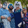Members of The Boston Sisitersof Perpetual Indulgence, a group that has devoted themselves to community service, ministry, and and outreach to those living on the edges, pose for a photo during the North Shore Pride Parade.<br /> <br /> Photo by joebrownphotos.com