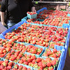 KEN YUSZKUS/Staff photo.    Jenny Palermo picks out strawberries to buy at the Salem Farmers Market.      06/09/16