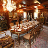 KEN YUSZKUS/Staff photo.     The west panel dinning room at the Henry Audesse mansion in Wenham.     06/28/16