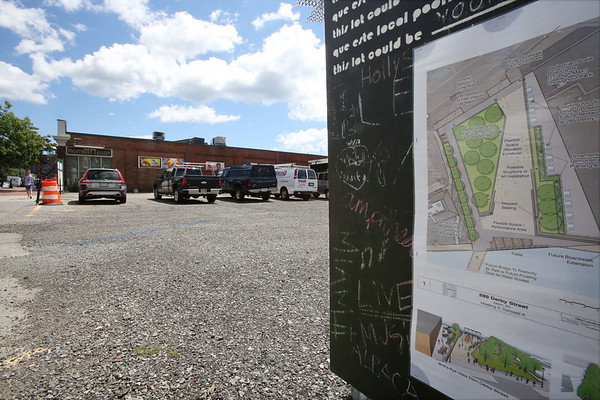 The parking lot will be the city's newest public park.