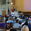 HADLEY GREEN/ Staff photo<br /> The North Shore Recovery High School graduation ceremony took place at the Second Congregational Church in Beverly. 6/07/17