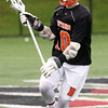 HADLEY GREEN/ Staff photo<br /> Beverly's Chris Cole (10) runs up the field at the Winchester v. Beverly Division 2 North semifinals boys lacrosse game at Knowlton Field in Winchester. 6/06/17