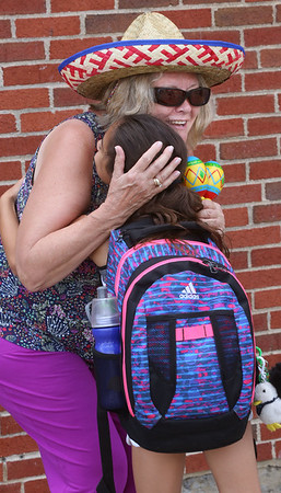 Retiring South Memorial School principal, Monique Nappi