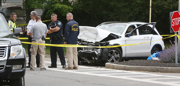 The fatal two motor vehicle accident