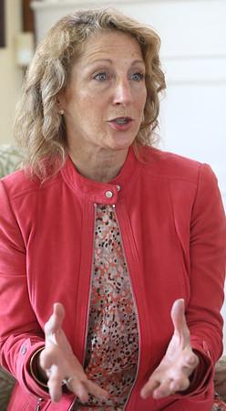 First Lady Lauren Baker speaks  about the Wunderfund