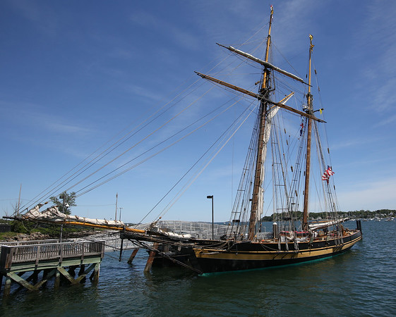 Pride of  Baltimorevand, Spirit of South Carolina, and more -- are anchored in Salem