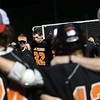 HADLEY GREEN/ Staff photo<br /> Beverly players huddle after losing their game against Hingham. 6/14/17