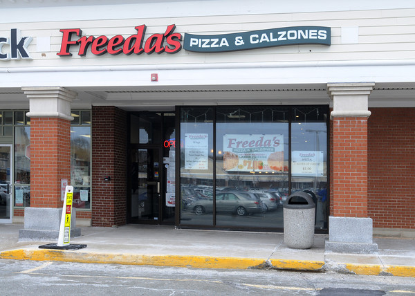 Ken Yuszkus/Staff photo: Beverly:  Freeda's Pizza is at 55 Dodge Street in Beverly.